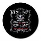 Jack Skellington Whiskey Heat-Resistant Round Mousepad