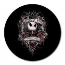 The Nightmare Before Christmas Heat-Resistant Round Mousepad