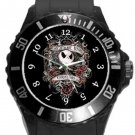 The Nightmare Before Christmas Plastic Sport Watch In Black