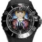 Super Cool Magic Circle Plastic Sport Watch In Black