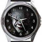 It Clown Round Metal Watch