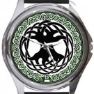 The Tree Of Life Round Metal Watch