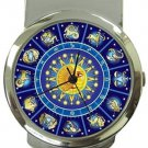 Astrology Horoscopes Zodiac Money Clip Watch