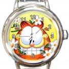 Garfield The Cat Round Italian Charm Watch