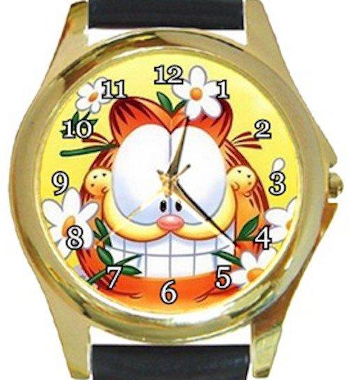 Garfield The Cat Gold Metal Watch