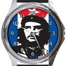 Che Guevara Revolucion Round Metal Watch