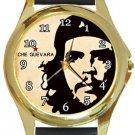Super Cool Che Guevara Gold Metal Watch