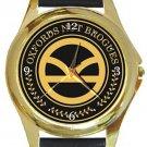 Super Cool Kingsman Manners Maketh Man Gold Metal Watch