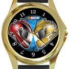 Racing Gold Metal Watch