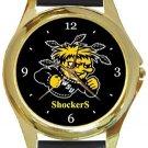 Wichita State University Gold Metal Watch