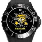Wichita State University Plastic Sport Watch In Black