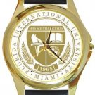 Florida International University Gold Metal Watch