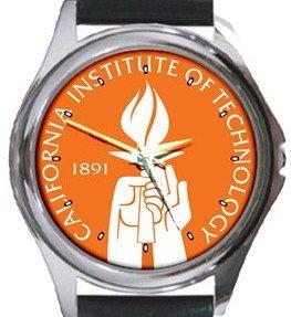 California Institute of Technology Caltech Round Metal Watch