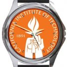 California Institute of Technology Caltech Round Metal Watch