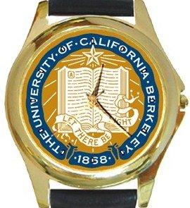 University of California Berkeley Gold Metal Watch
