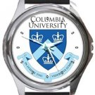 Columbia University Round Metal Watch