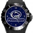 Penn State Nitanny Lions Plastic Sport Watch In Black
