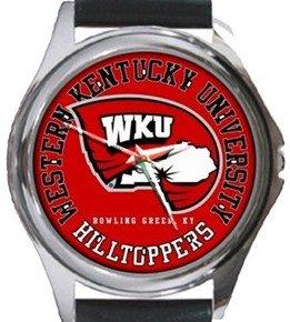 Western Kentucky University Round Metal Watch