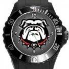 University of Georgia Bulldogs Plastic Sport Watch In Black