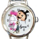 Agnes Despicable Me Round Italian Charm Watch