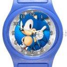 Sonic Blue Plastic Watch