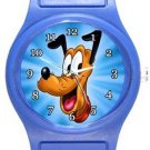 Pluto Blue Plastic Watch