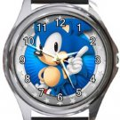 Sonic Round Metal Watch