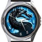 Mortal Kombat Round Metal Watch