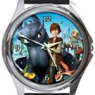 How To Train Your Dragon Round Metal Watch