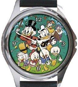 Duck Tales Round Metal Watch