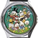 Duck Tales Round Metal Watch