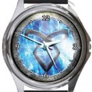Mortal Instruments Round Metal Watch