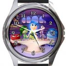 Inside Out  Round Metal Watch