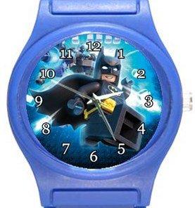 Batman Lego Blue Plastic Watch