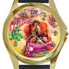 Wreck It Ralph Gold Metal Watch