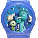Monsters Inc University Blue Plastic Watch