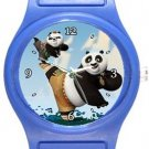Kung Fu Panda Blue Plastic Watch