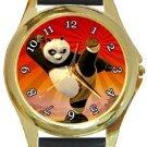 Kung Fu Panda Gold Metal Watch