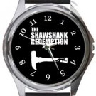 The Shawshank Redemption Round Metal Watch