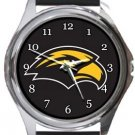 Southern Mississippi Golden Eagles Round Metal Watch