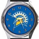 San Jose State Spartans Round Metal Watch
