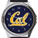 California Golden Bears Round Metal Watch