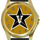 Vanderbilt University Commodores Gold Metal Watch