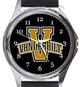 Vanderbilt Commodores Round Metal Watch
