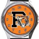 Princeton Tigers Round Metal Watch