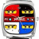Lego Ninjago Square Metal Watch