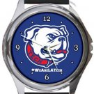 Louisiana Tech Bulldogs Round Metal Watch