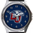 Liberty University Flames Round Metal Watch
