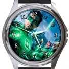 Green Lantern Round Metal Watch