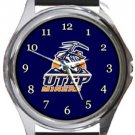 University of Texas El Paso UTEP Miners Round Metal Watch